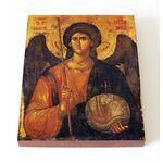 Архангел Михаил, Греция, XIV в, печать на доске 13*16,5 см - Иконы
