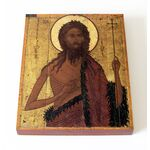 Святой Иоанн Предтеча, Ярославль, 1570 г, печать на доске 13*16,5 см - Иконы