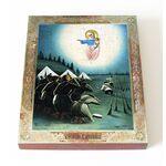 Августовская икона Божией Матери, 1915-1917 г, доска 13*16,5 см - Иконы