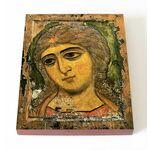 Ангел Златые Власы, Архангел Гавриил, икона на доске 13*16,5 см - Иконы