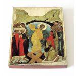Воскресение Христово, 1408 г, икона на доске 13*16,5 см - Иконы