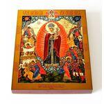 """Икона Божией Матери """"Всех скорбящих Радость"""", доска 13*16,5 см - Иконы"""