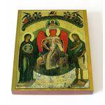София Премудрость Божия, Новгородская, XV в, икона на доске 13*16,5 см - Иконы
