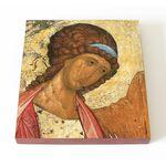 Архангел Михаил, Андрей Рублев, фрагмент, икона на доске 14,5*16,5 см - Иконы