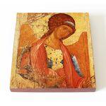 Архангел Михаил, Андрей Рублев, икона на доске 14,5*16,5 см - Иконы