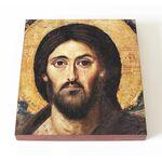 Спас Синайский или Христос Пантократор, фрагмент, доска 14,5*16,5 см - Иконы