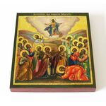 Вознесение Господне, икона на доске 14,5*16,5 см - Иконы