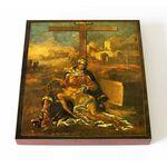 """Икона Божией Матери """"Не рыдай Мене, Мати"""", Палех, 1769 г, 14,5*16,5 см - Иконы"""
