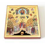 Собор новомучеников и исповедников Российских, доска 14,5*16,5 см - Иконы