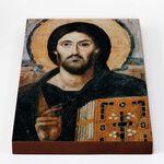 Спас Синайский или Христос Пантократор VI в, печать на доске 18*26 см - Иконы