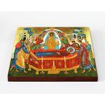 Успение Пресвятой Богородицы, икона на доске 20*25 см - Иконы