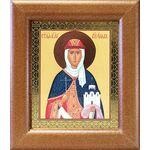 Равноапостольная княгиня Ольга, широкая рамка 14,5*16,5 см - Иконы