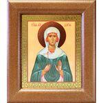 Мученица Дария Римская, икона в широкой рамке 14,5*16,5 см - Иконы