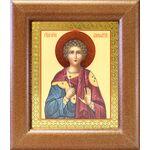 Мученик Вонифатий Тарсийский, икона в широкой рамке 14,5*16,5 см - Иконы
