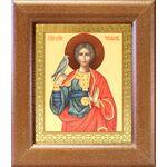 Мученик Трифон Апамейский, широкая рамка 14,5*16,5 см - Иконы