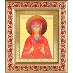 Мученица Наталия Никомидийская, икона в широкой рамке с узором - Иконы
