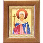 Равноапостольная Нина просветительница Грузии, икона в рамке 14,5*16,5 - Иконы