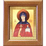 Преподобная Евфросиния Полоцкая, икона в широкой рамке - Иконы