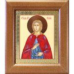 Мученица Иулия Карфагенская, икона в широкой рамке 14,5*16,5 см - Иконы