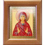 Праведная Анна, икона в широкой деревянной рамке 14,5*16,5 см - Иконы