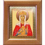Мученица Александра, царица Римская, икона в широкой рамке 14,5*16,5см - Иконы