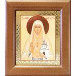 Преподобномученица великая княгиня Елисавета, в рамке 14,5*16,5 см - Иконы