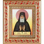 Преподобный Паисий Святогорец, икона в широкой рамке с узором - Иконы