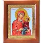 Праведная Анна, икона в деревянной рамке 12,5*14,5 см - Иконы