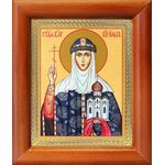 Равноапостольная княгиня Ольга, икона в рамке 8*9,5 см - Иконы