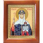 Равноапостольная княгиня Ольга, икона в рамке 12,5*14,5 см - Иконы