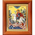 Мученик Трифон Апамейский, икона в рамке 8*9,5 см - Иконы