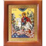 Мученик Трифон Апамейский, икона в рамке 12,5*14,5 см - Иконы