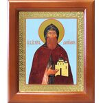 Благоверный князь Даниил Московский, икона в рамке 12,5*14,5 см - Иконы