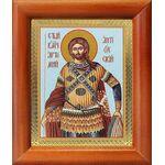 Великомученик Артемий Антиохийский, икона в рамке 8*9,5 см - Иконы