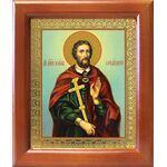 Великомученик Иоанн Новый Сочавский, икона в рамке 12,5*14,5 см - Иконы
