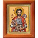 Мученик Иоанн Воин, икона в рамке 8*9,5 см - Иконы