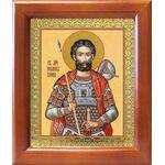 Мученик Иоанн Воин, икона в рамке 12,5*14,5 см - Иконы