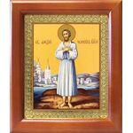 Преподобный Алексий человек Божий, икона в рамке 12,5*14,5 см - Иконы