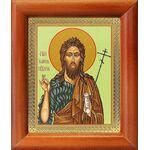 Предтеча и Креститель Господень Иоанн, икона в рамке 8*9,5 см - Иконы