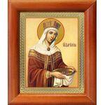 Равноапостольная царица Елена, икона в рамке 8*9,5 см - Иконы