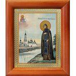 Благоверная княгиня Анна Кашинская, икона в рамке 8*9,5 см - Иконы