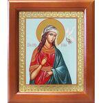 Великомученица Ирина Македонская, икона в рамке 12,5*14,5 см - Иконы