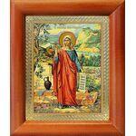 Равноапостольная Мария Магдалина, икона в рамке 8*9,5 см - Иконы