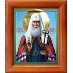 Святитель Иов, патриарх Московский, икона в рамке 8*9,5 см - Иконы