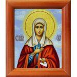 Святая Ева праматерь, жена Адама, икона в рамке 8*9,5 см - Иконы