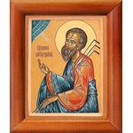 Праведный Прокопий Устюжский, Христа ради юродивый, рамка 8*9,5 см - Иконы