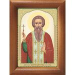 Преподобномученик Вадим Персидский, икона в рамке 7,5*10 см - Иконы