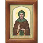 Преподобный Виталий Александрийский, икона в рамке 7,5*10 см - Иконы
