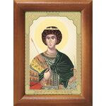 Великомученик Георгий Победоносец, икона в рамке 7,5*10 см - Иконы