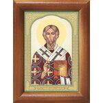 Святитель Геннадий Новгородский, икона в рамке 7,5*10 см - Иконы